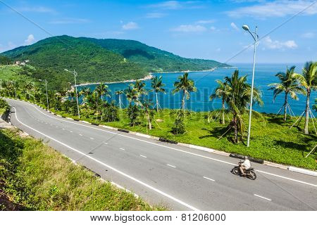 The seaside highway
