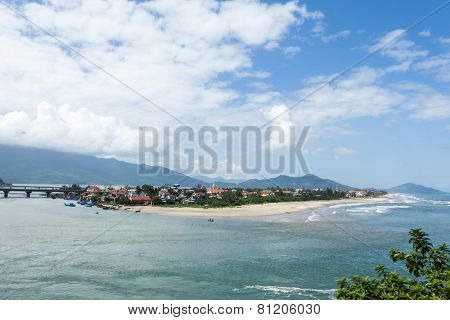 The coast of Vietnam