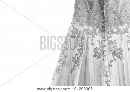 The Bride's Wedding Gown