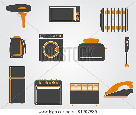 Kitchen Simple Icons