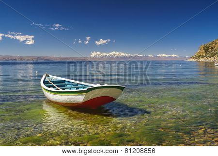 Boat On Titicaca