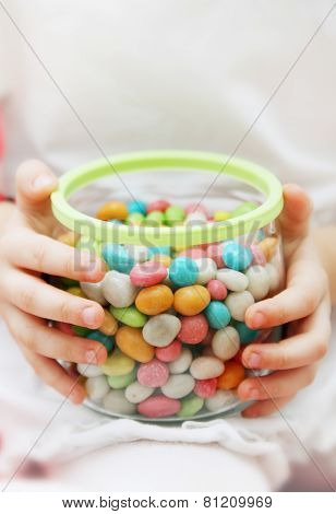 Jar With Candy