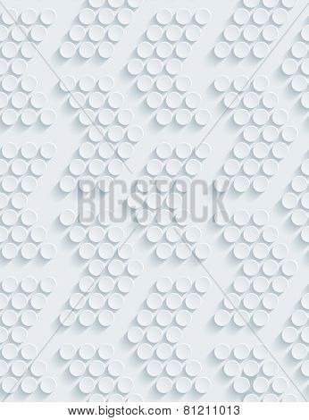 Dark gray perforated paper with cut out effect. Editable vector EPS10. See others in my Perforated Paper Sets.