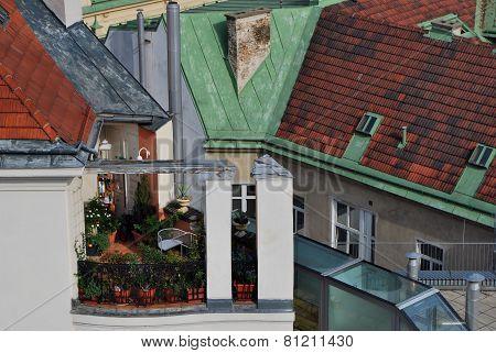 Dachterasse Wien