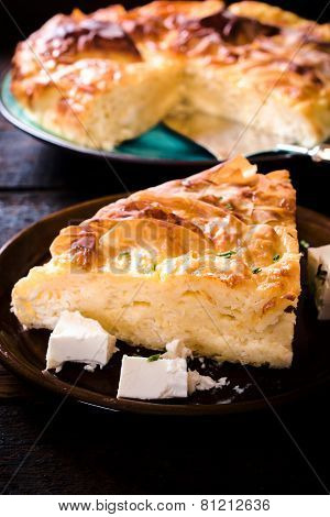Cheese Pie Slice