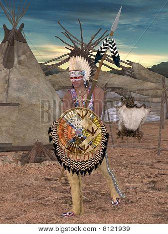 Native American Indian - Cheyenne