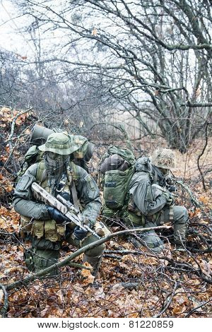 Group of jagdkommando soldiers