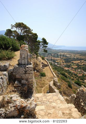 Stunning View From Ayios Georgios Castle