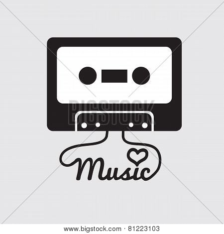 Tape Cassette.