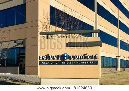 Select Comfort Corporate Headquarters And Sign