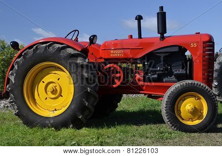 Restored Massey Harris Tractor