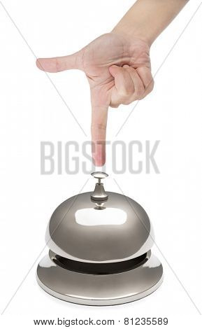 Female Finger Ringing Service Bell