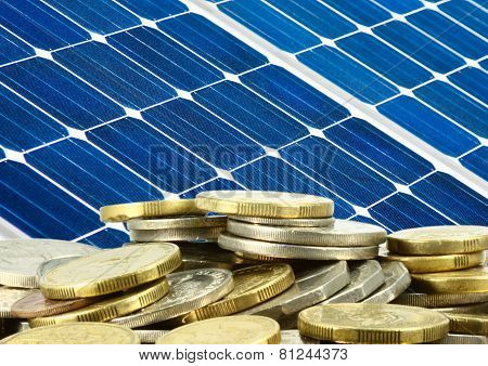 Solar Panel And Money Saving