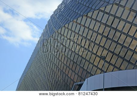 Exterior Of Tele 2 Arena Detail