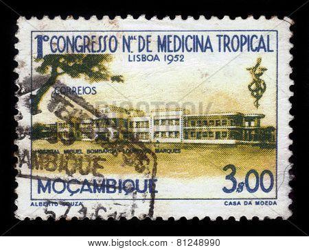 Miguel Bombarda Hospital In Lourenco Marques, Mozambique