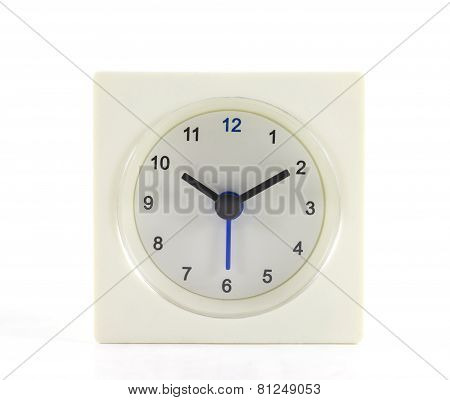 The Clock Isolated On White Background 10 O'clock