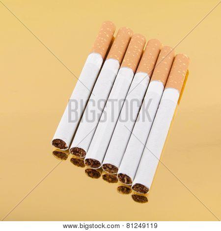 Six Filter Cigarettes