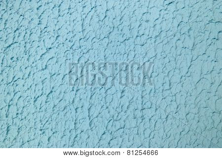 Colored silicone plaster on the wall