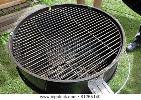 Barbecue, Spare Ribs, Flames Grilling  On The Bbq