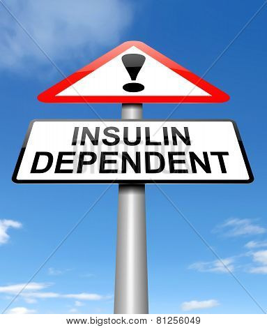 Insulin Dependency Concept.