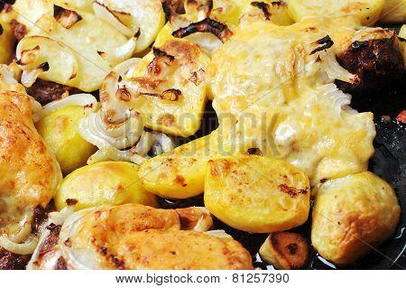 Chicken With Potato