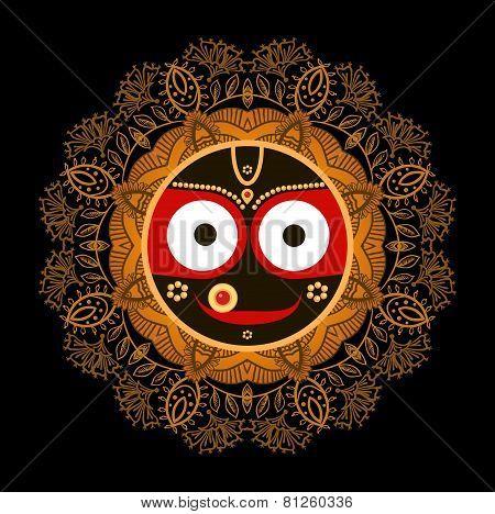 Lord Jagannatha.