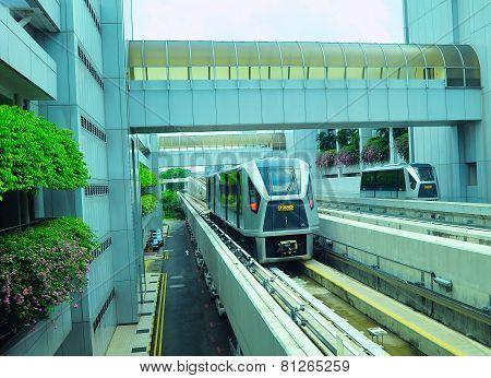 Airport Skytrain, Singapore