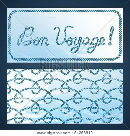 Nautical Flayers - Bon Voyage