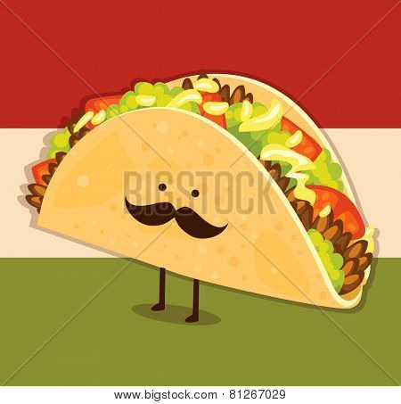 Cute little taco