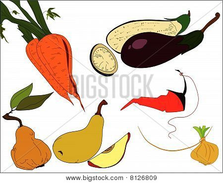 Carrots_eggplants_peas_onion