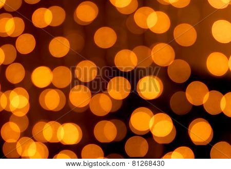 golden christmas lights abstract homogeneous background
