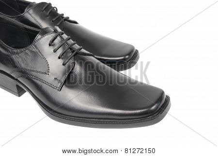 Pair Of Man's Black Shoes