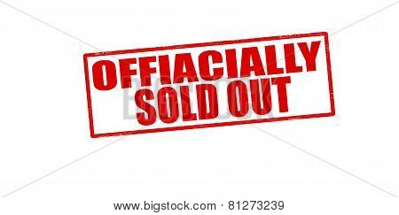 Officially Sold Out