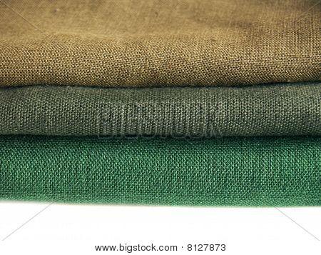 Fabrics: Green Flax