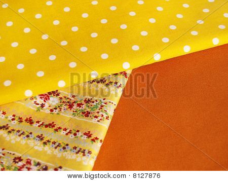 Cotton For Sewing (yellow Range)