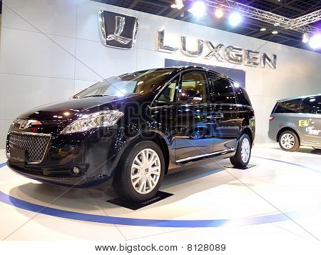 Luxgen SUV on Display