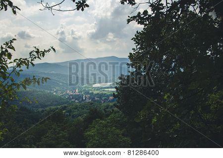 Cityscape Of Vysehrad, Hungary