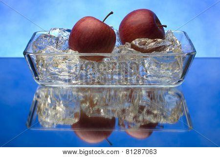 Fruit on ice