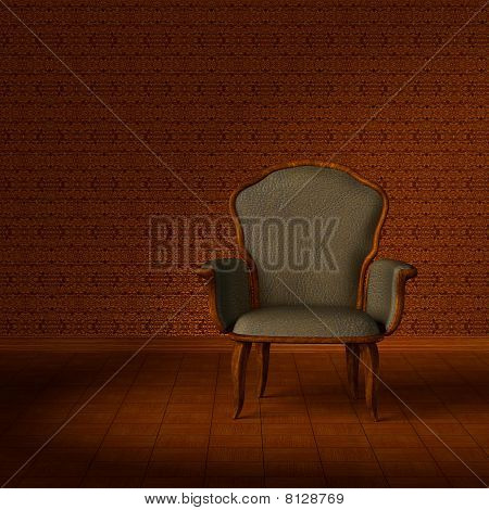 Antique armchair.