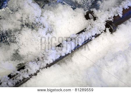 Frozen old sticker