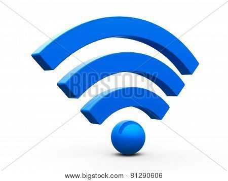 Wifi symbol isometry
