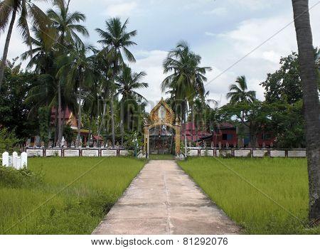 Architectural Scenery In Laos