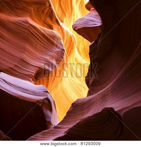 The Upper Antelope Canyon Page Arizona USA