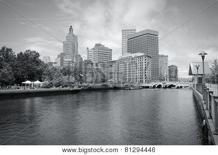 Providence Black White