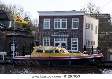 Provincie Zuid Holland Boat