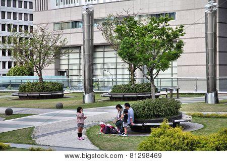 Park In Nagoya, Japan