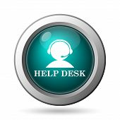 pic of helpdesk  - Helpdesk icon - JPG