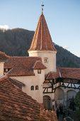 foto of dracula  - Castle in Bran Transilvania where Dracula lived - JPG