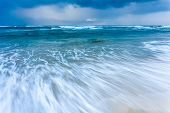 stock photo of tide  - The high tide of close - JPG