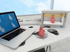 foto of 3d  - 3d printing human body - JPG